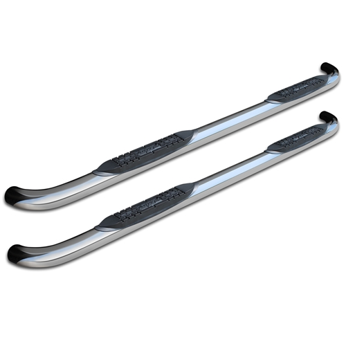 3in Round Nerf Bars - Stainless Steel