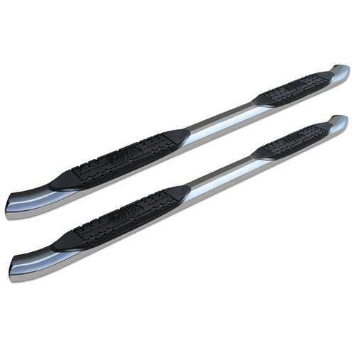 4in Curved OE Style Oval Nerf Bars - Stainless Steel